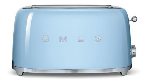 tostadora eléctrica smeg - 2 tostadas varios colores gtía