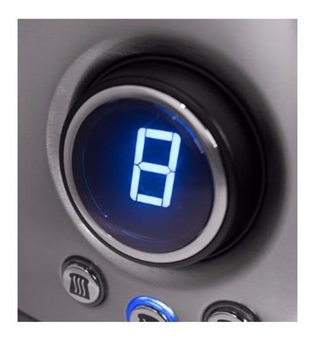 tostadora electrica yelmo to3008 9 niveles 1600w 4 panes
