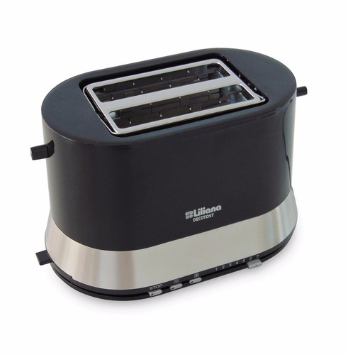 tostadora liliana decotost 901 soporte metalico calienta pan