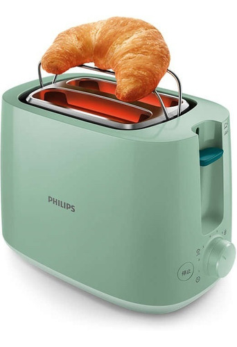 tostadora philips hd2581/60 daily collection verde