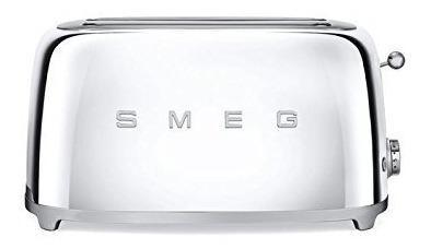 tostadoras,estilo retro de smeg tsf02ssus 50 estética 4 ..