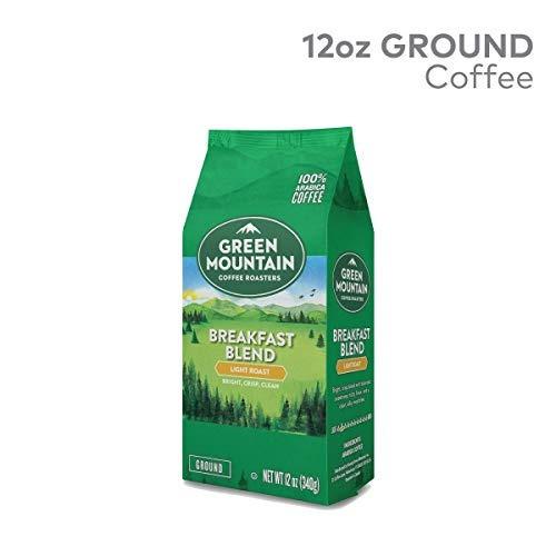 tostadores café verde  montañ, mezcla desayuno, 12 oz. bo