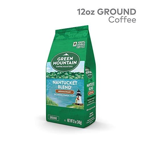 tostadores café verde montañ nantucket mezcla, solo sirve