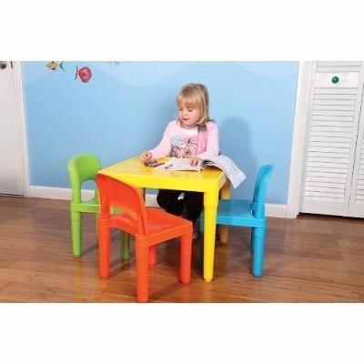 Tot tutors mesa con 4 sillas para ni os escuelas kinder for Sillas para 2 ninos diferente edad