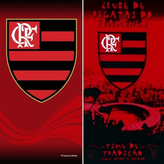 ceaa8010f9e9 Total! 02 Toalhas Banho/praia Futebol Flamengo Oficial - R$ 139,00 ...
