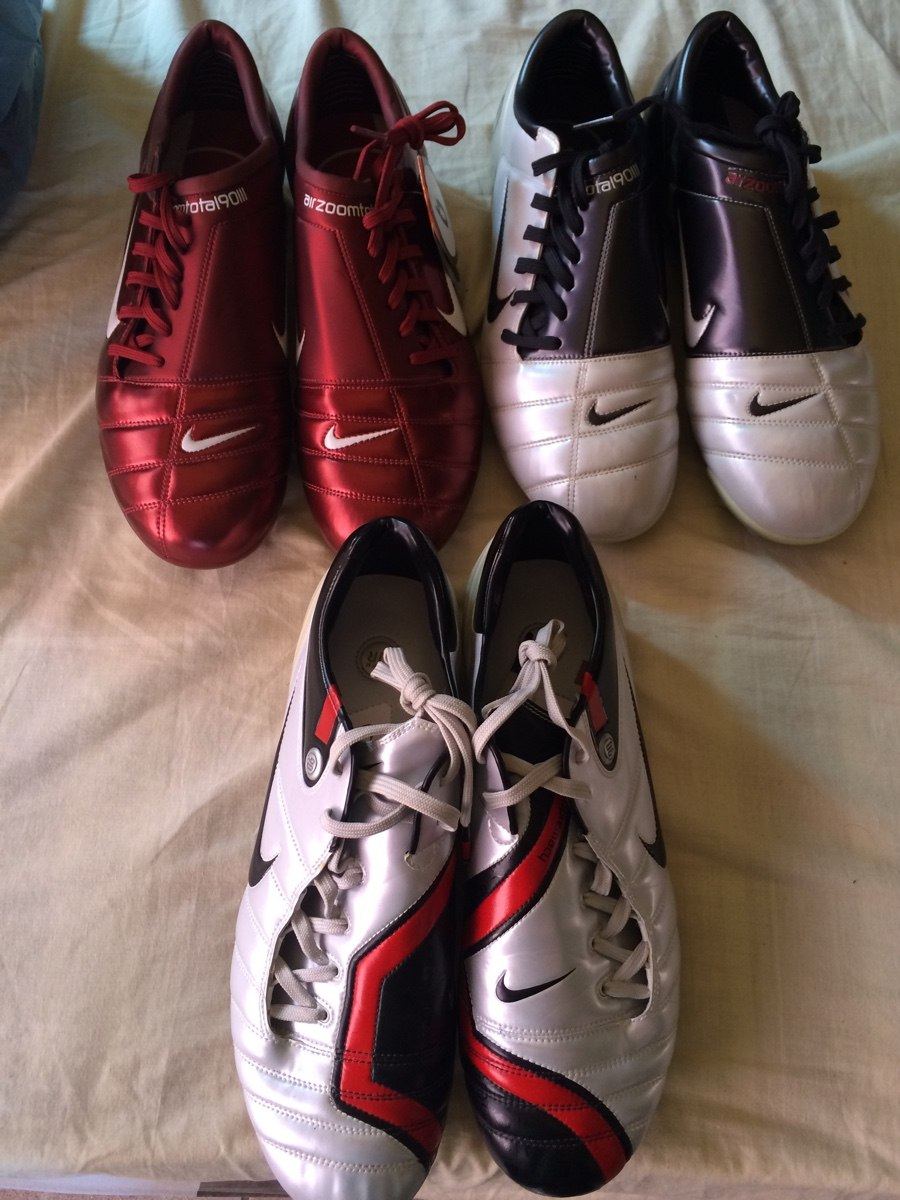 finest selection 592dc 71675 ... germany nike air zoom total 90 blanco rojo version total 90 laser air  zoom ded0e df828