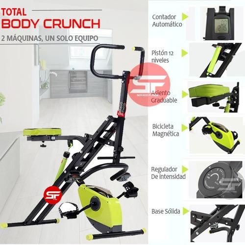 total body crunch evo xt2019 + piston12n + bici 8 n + garant