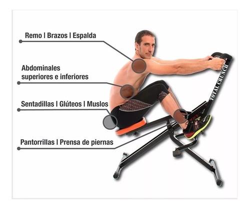 total body crunch, maquina para hacer ejercicios+ regalo