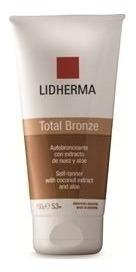 total bronze autobronceante lidherma