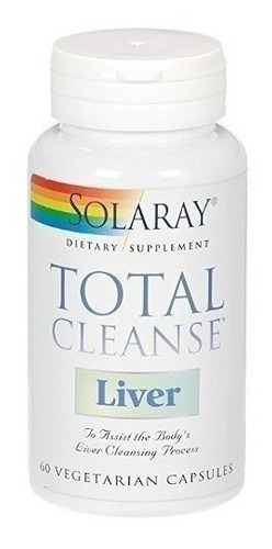 total cleanse liver solaray 60 capsules