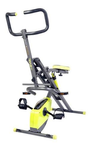 total evolution abdominal cilindro bicicleta estatica + obsq