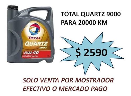 total quartz 9000 5w 40 oferta !!!!