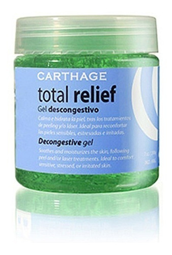 total relief gel descongestivo 200gr carthage