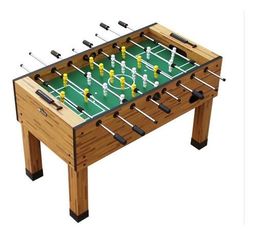 totalmente nueva mesa futbolin estilo tornado en caja