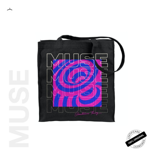 tote bag oficial muse tour 2019