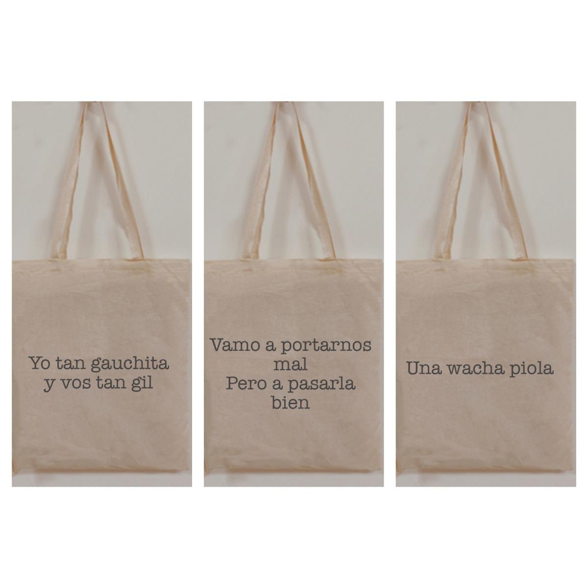 3f1ca3884 tote bags bolsa de lienzo estampada 35x40-manijas reforzadas. Cargando zoom.