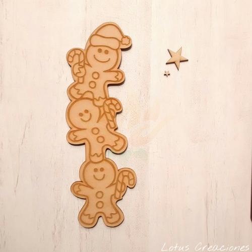totem cookies 30cm galletas jengibre navidad -corte láser-