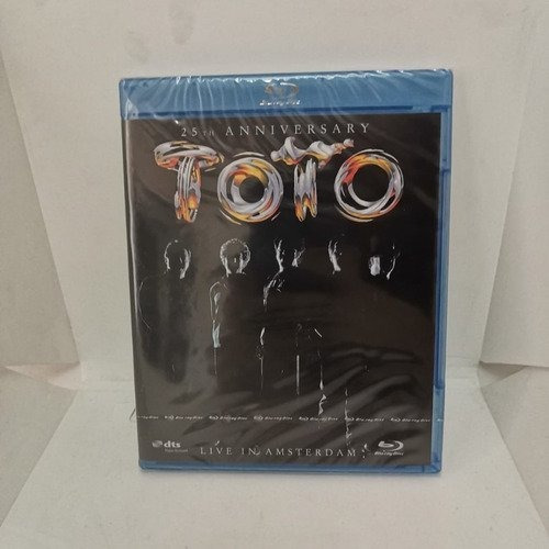 toto 25th anniversary in amsterdam blu ray [nuevo]