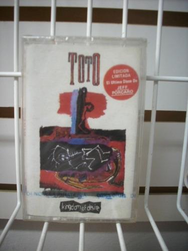 toto - kingdom of desire cassette nuevo y sellado