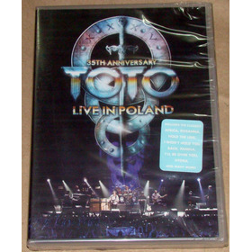 Toto Live In Poland 35th Anniversary Dvd Sellado Argentino
