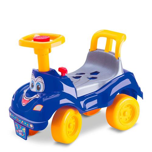 totoka infantil motoca bebe totokinha plus azul cardoso