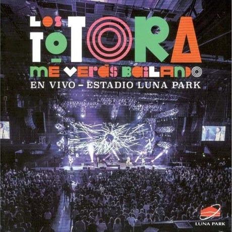 totora los me veras bailando en el luna cd + dvd nuevo