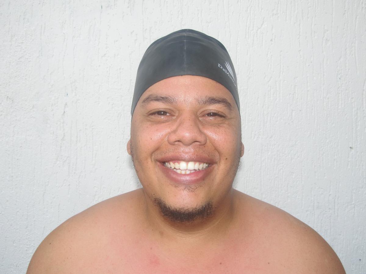 touca afro de natação e banho - daminhacor cabelo curto. Carregando zoom. ac28d3dd52f