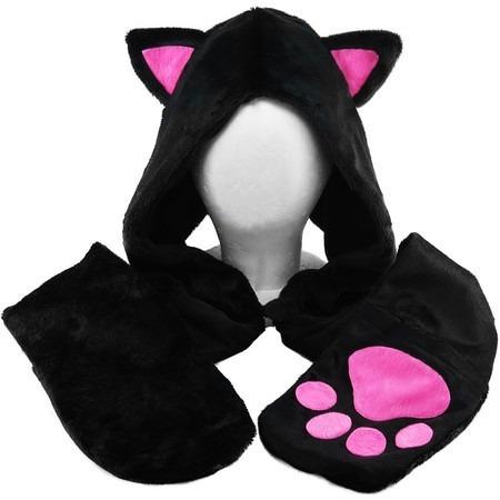 touca anime gato rosa 75