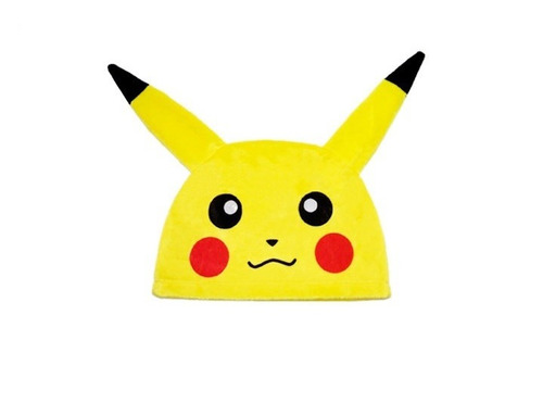 touca anime pokémon - pikachu