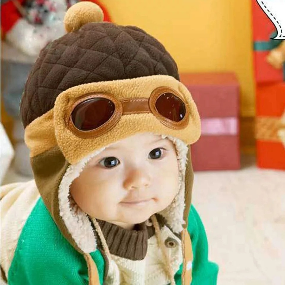f636de4e303ff touca aviador inverno menina menino gorro criança bebês. Carregando zoom.