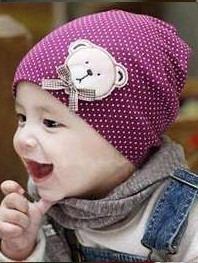 edd9693ccdd60 Touca Bebe Crianças Toucas Lã Menina Gorro Boina Chapéu - R  27 ...