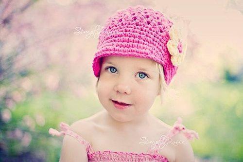 Touca Boina De Croche Flor - Infantil A Adulto - Chapeu Cap - R  34 ... 41631627779