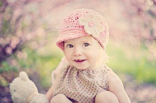 Touca Boina De Croche Flor - Infantil A Adulto - Chapeu Cap - R  34 ... 1af769e99b7