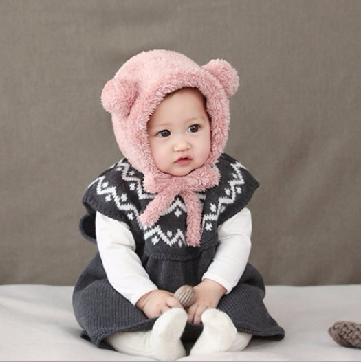 Touca Confort Linda Gorro Pronta Entrega Bebe Inverno - R  44 b036c8a8149