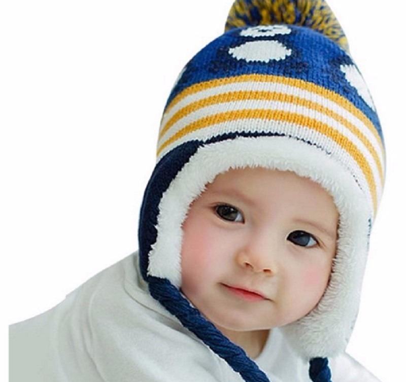 ca8863a26b3d2 touca criança bebe algodão soft forrada rosa azul amarela. Carregando zoom.