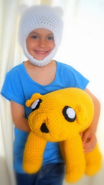 Touca Croche Finn Hora De Aventura - Cosplay Gorro - Newbon - R  35 ... 5e3fe7eb773