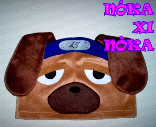 touca de anime * naruto pakkun cachorro * promoção !!