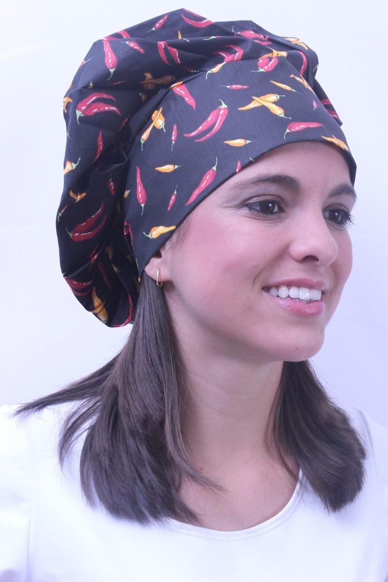 Touca Cozinha Estampada No Mercado Livre Brasil ~ Molde De Touca Para Cozinha