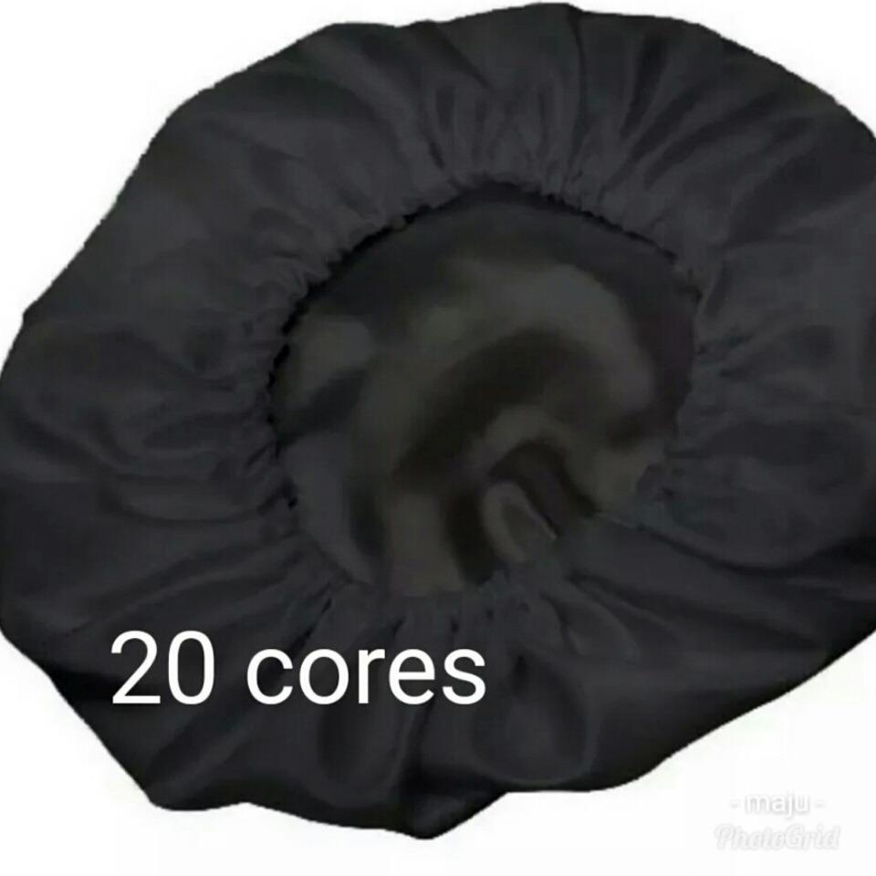 touca de cetim anti frizz anti queda alto brilho. Carregando zoom. 9788b04a344