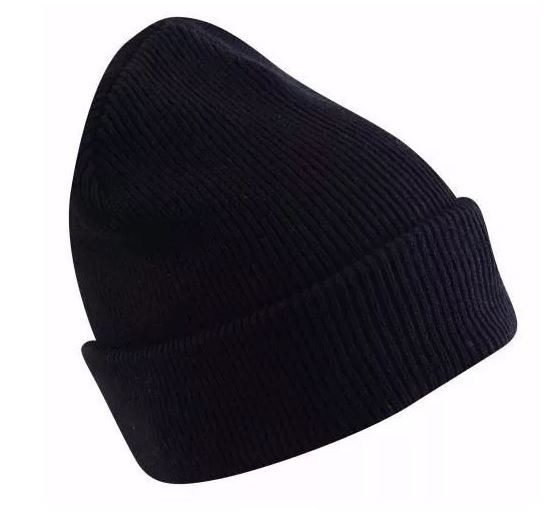 Touca De Lã Lisa Preta - Promoção 100un - R  419 1479441a50d14