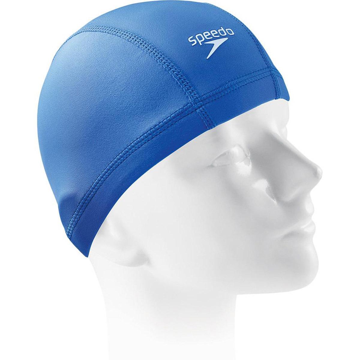 bc386afdb touca de natação infantil speedo hydratech jr em tecido c nf. Carregando  zoom.