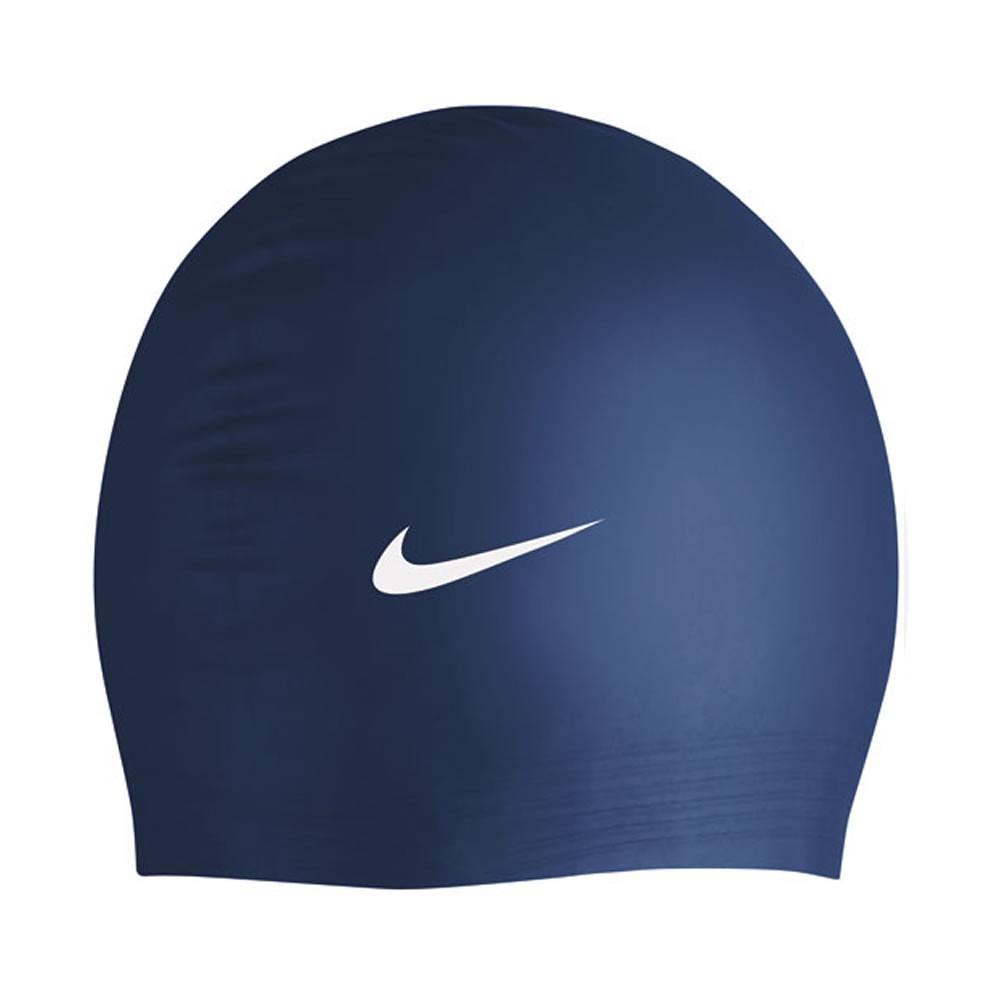 57f3fedc25b7c touca de natação nike solid silicone cap - cores. Carregando zoom.
