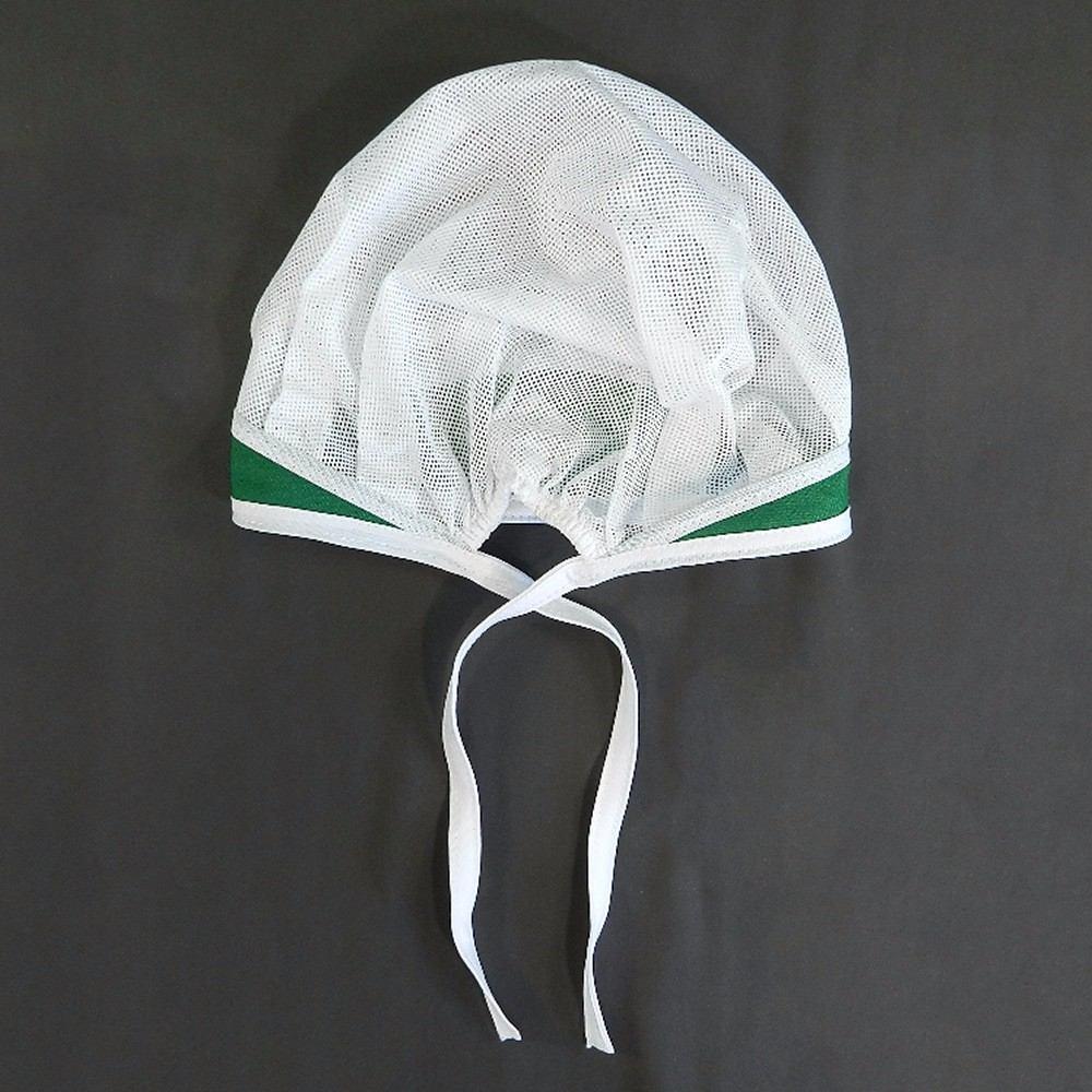 Touca De Tule Oxford Poliéster Verde - R  17 2b7e423d408