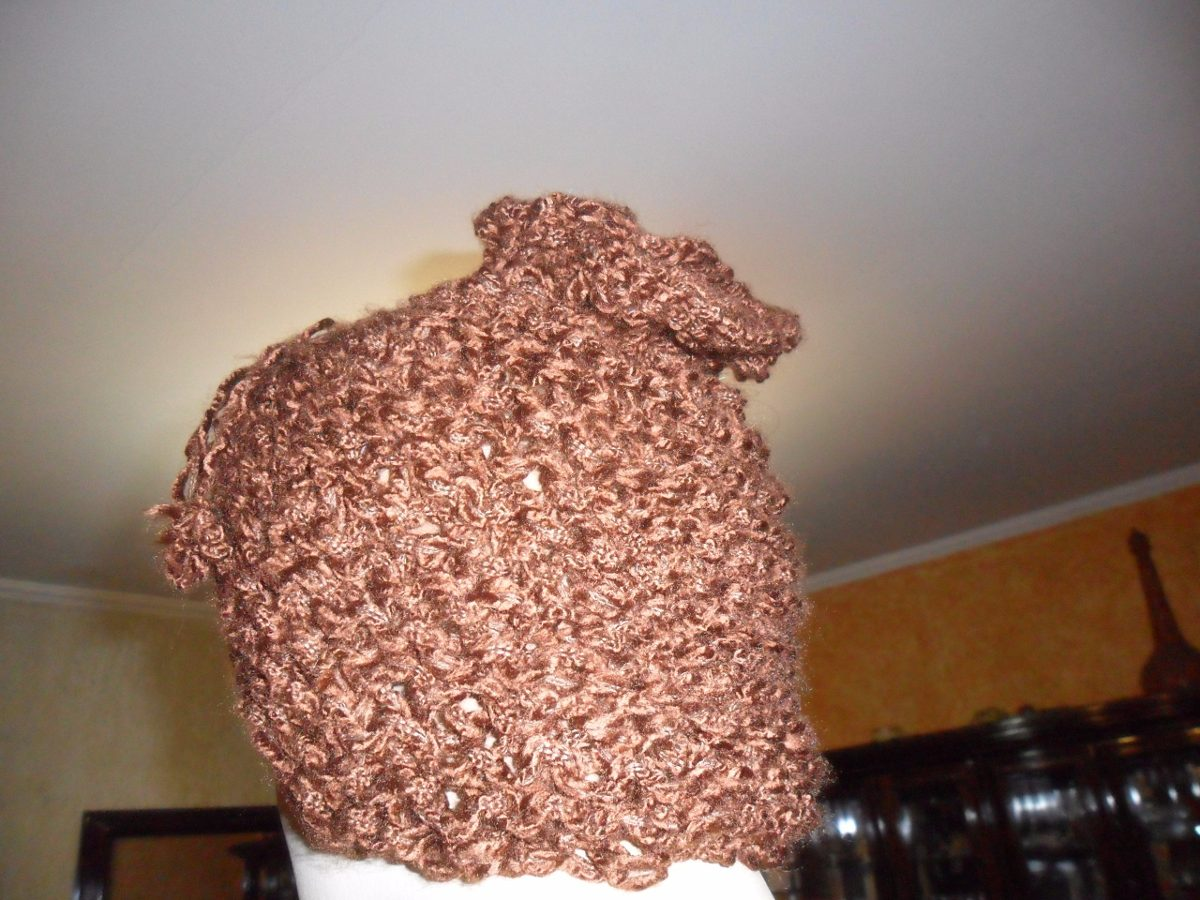 2bf3837f8b6bb touca gola feminino lã tricô. Carregando zoom.