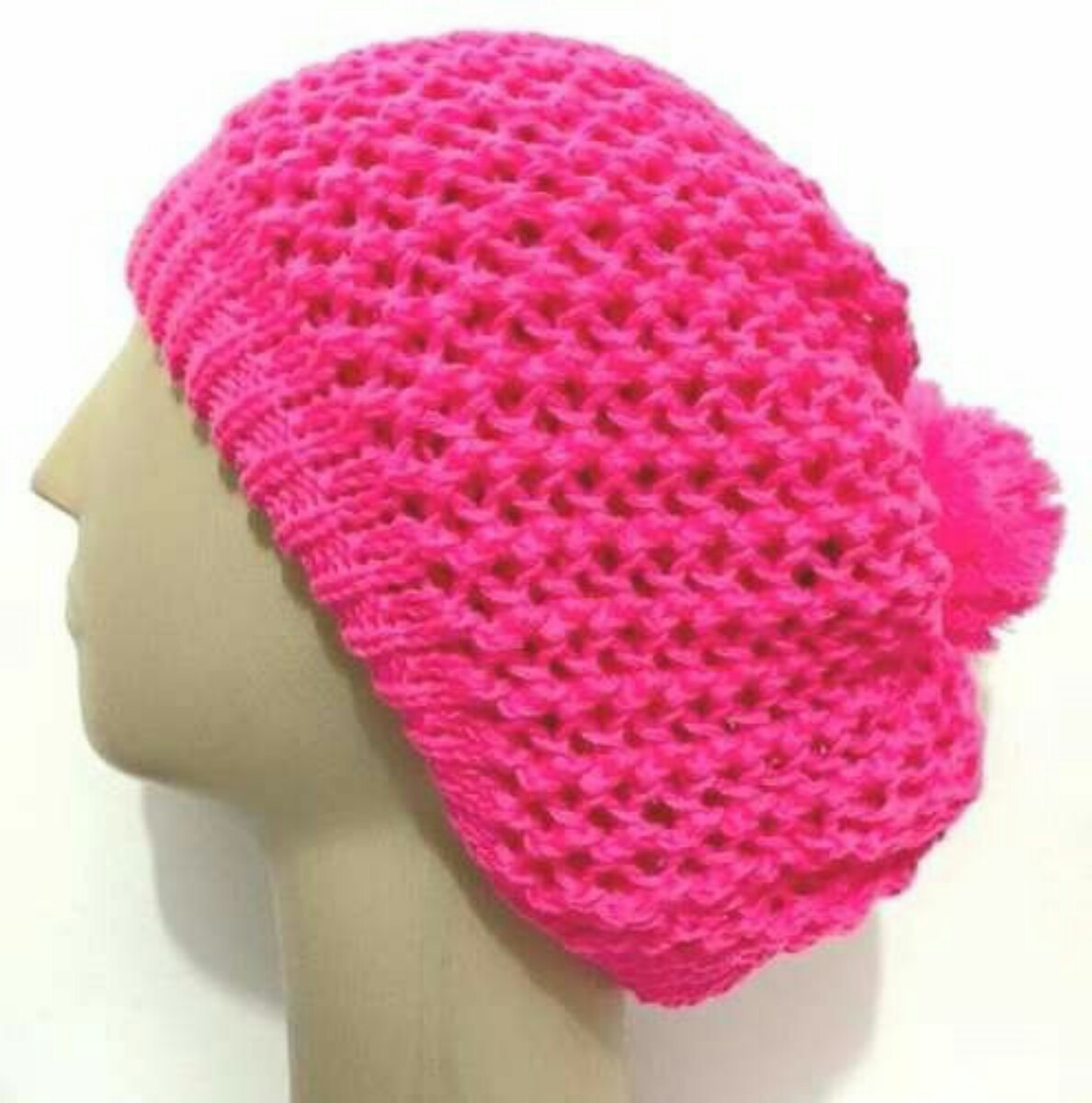touca gorro boina de lã tricô feminina inverno várias cores. Carregando  zoom. e3e289e1afa