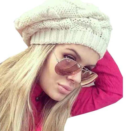 68bdd477c9cf6 Touca Gorro Boina Feminina Promoção Inverno 2018 - R  29