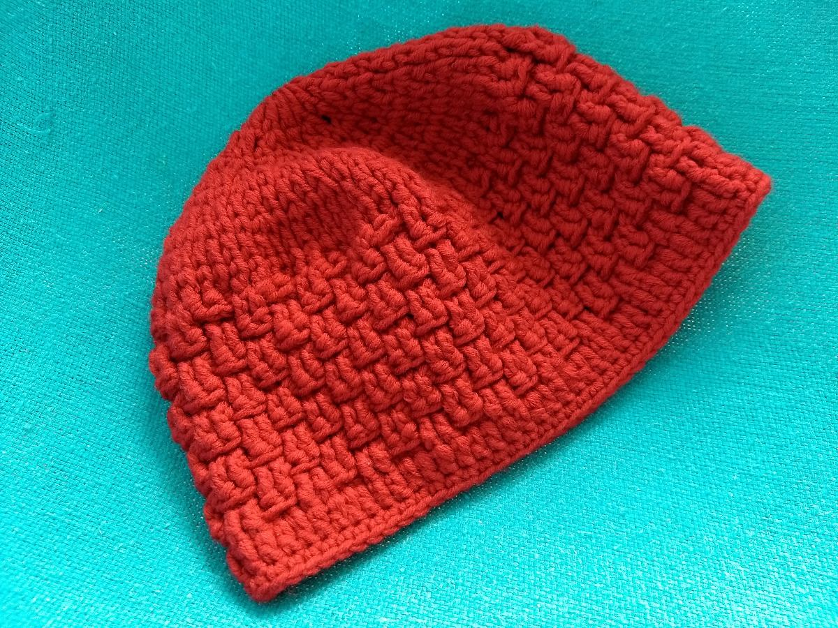 9b9cd44424c0d touca gorro boina trico lã artesanal vermelha inverno linda. Carregando  zoom.