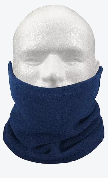 Touca Gorro Cachecol Azul Proteção Pescoço Rosto Inverno - R  23 ... efd630d4c25