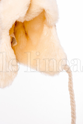 touca gorro chaves forro em pele inverno unissex feminino