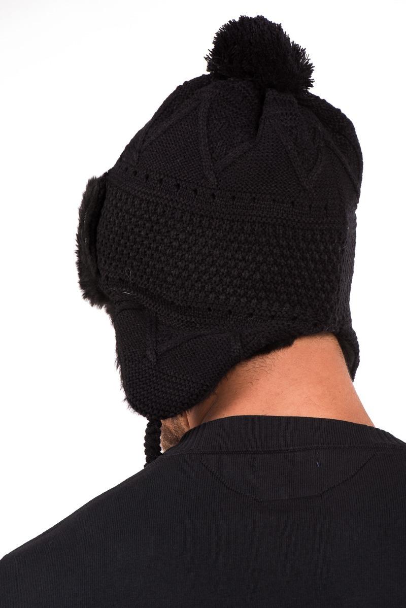 touca gorro chaves forro em pele inverno unissex masculino. Carregando zoom. e6d0c244489